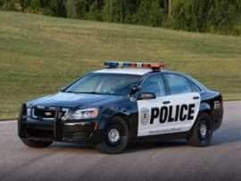 2013 Chevrolet Caprice Police 4dr Police Patrol Vehicle