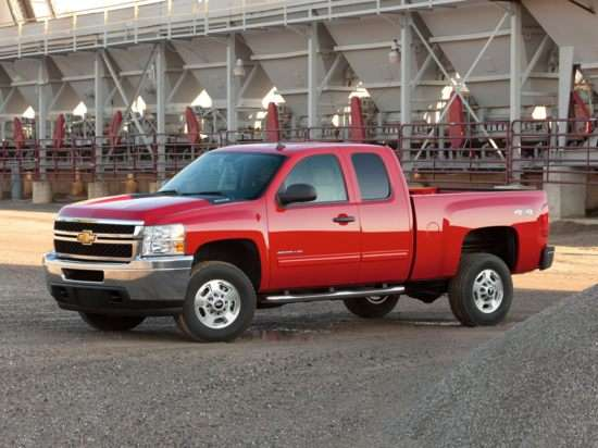 2013 Chevrolet Silverado 2500HD LT 4x2 Extended Cab Long Box