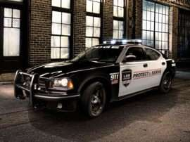2013 Dodge Charger Police 4dr Rear-wheel Drive Sedan