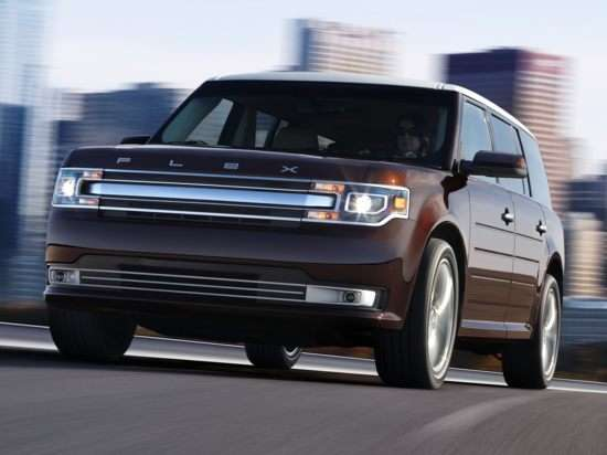 2013 Ford Flex Limited w/EcoBoost AWD