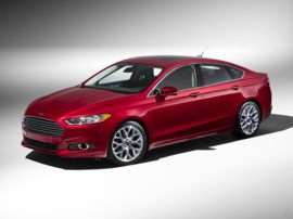 2013 Ford Fusion S 4dr Front-wheel Drive Sedan