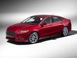 2013 Ford Fusion Titanium 4dr Front-wheel Drive Sedan