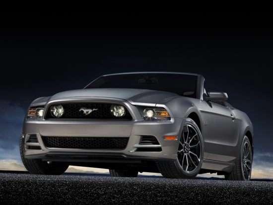2013 Ford Mustang GT Premium Convertible