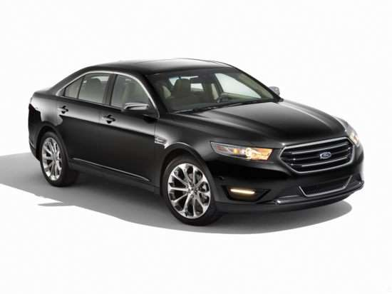 05.  Ford Unveils Track-Ready Package For Ford Taurus SHO