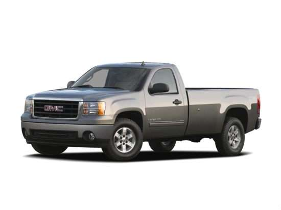 2013 GMC Sierra 1500 SLE 4x4 Regular Cab 8' Box