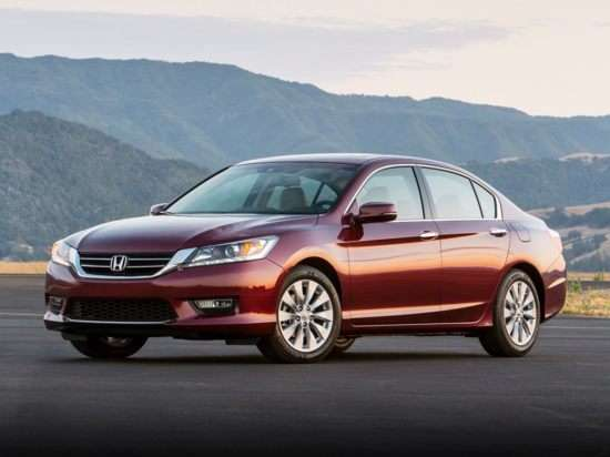 2013 Honda Accord EX-L With Navigation (CVT) Sedan
