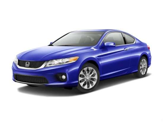 2013 Honda Accord EX-L With Navigation (CVT) Coupe