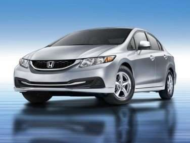 2013 Honda Civic Natural Gas With Navigation (A5) Sedan