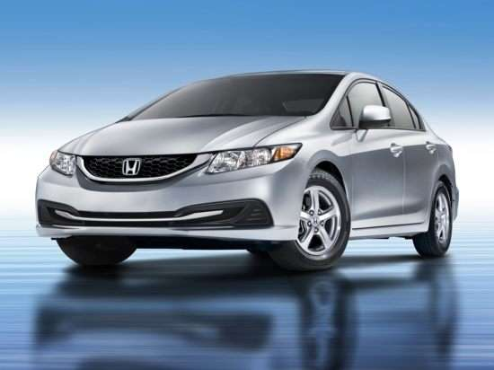 2013 Honda Civic Natural Gas (A5) Sedan