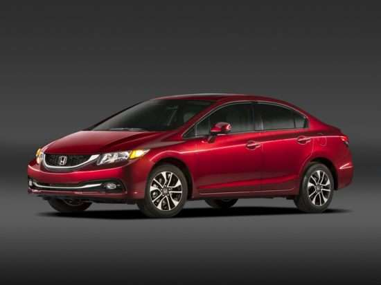 2013 Honda Civic EX-L With Navigation (A5) Sedan