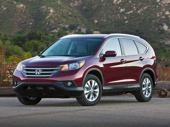 2013 Honda CR-V EX-L With Navigation FWD