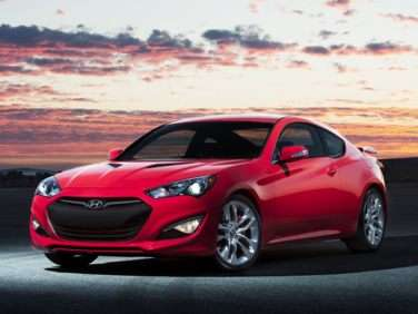 2013 Hyundai Genesis Coupe 3.8 Grand Touring w/Black Leather (A8)