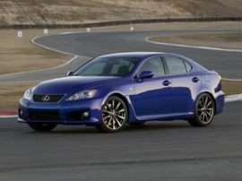 2013 Lexus IS-F Base 4dr Rear-wheel Drive Sedan