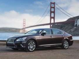 2013 Lexus LS 600h L 4dr All-wheel Drive LWB Sedan