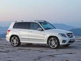 2013 Mercedes-Benz GLK-Class Base GLK350 4dr All-wheel Drive 4MATIC
