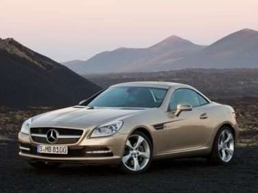 2013 Mercedes-Benz SLK-Class 