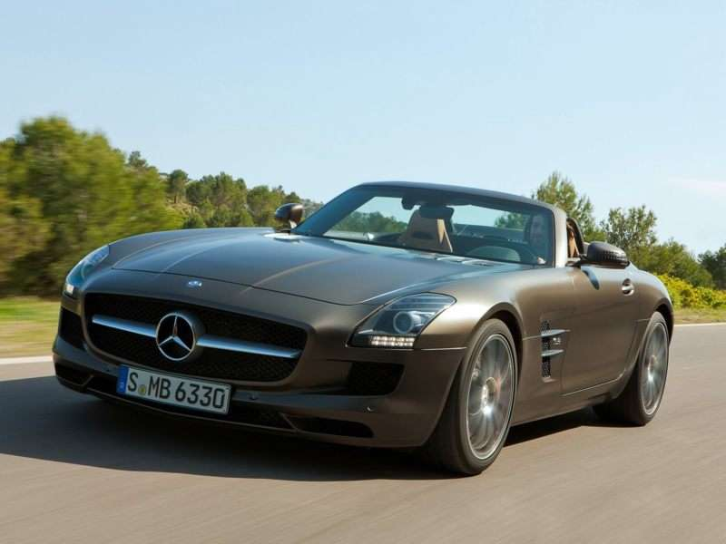 Research the 2013 Mercedes-Benz SLS AMG