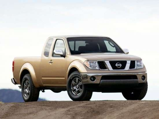 2013 Nissan Frontier SV (M6) 4x4 King Cab