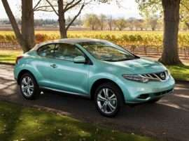 2013 Nissan Murano CrossCabriolet Base 2dr All-wheel Drive