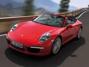 2013 Porsche 911 S RWD Cabriolet