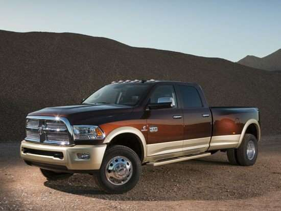 2013 RAM 2500 Laramie Longhorn Edition 4x2 Crew Cab Long Box
