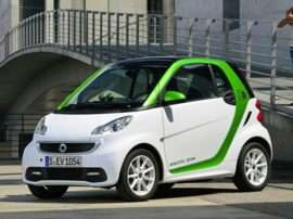 2013 smart fortwo electric drive passion 2dr Coupe