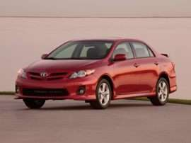 2013 Toyota Corolla L 4dr Sedan