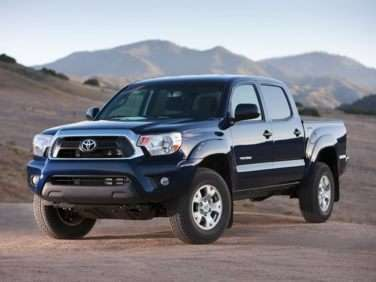 2013 Toyota Tacoma Base (A4) 4x2 Double Cab Short Box
