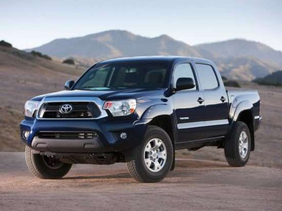 2013 Toyota Tacoma PreRunner (A4) 4x2 Double Cab Short Box