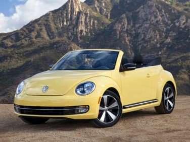 2013 Volkswagen Beetle 2.5L w/PZEV (A6) Convertible