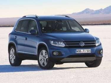 2013 Volkswagen Tiguan SEL (A6) FWD Original Model Code