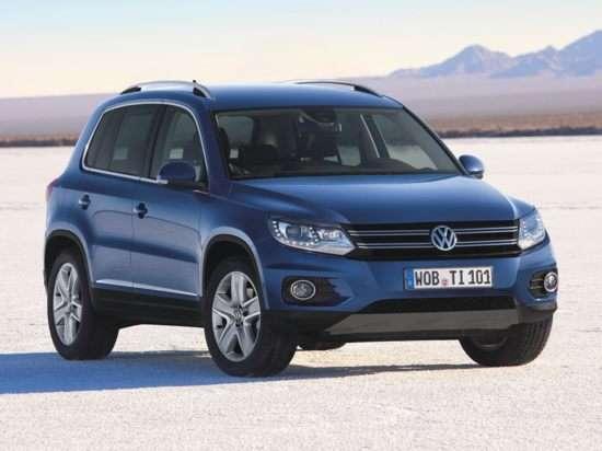 2013 Volkswagen Tiguan SE AWD Original Model Code