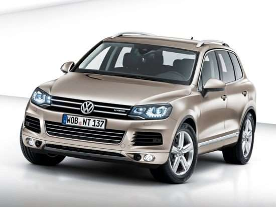2013 Volkswagen Touareg Hybrid SUV Video Review