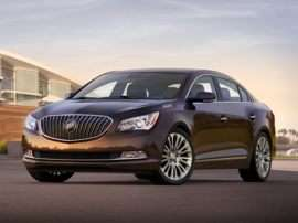 2014 Buick LaCrosse Base 4dr Front-wheel Drive Sedan