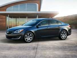 2014 Buick Regal Turbo 4dr Front-wheel Drive Sedan