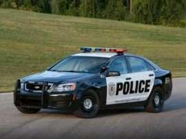2014 Chevrolet Caprice Police 4dr Police Patrol Vehicle