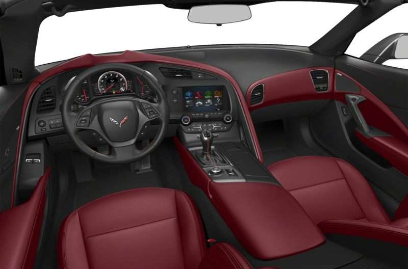 2014 Chevy Corvette Stingray Stars on 10 Best Interiors List