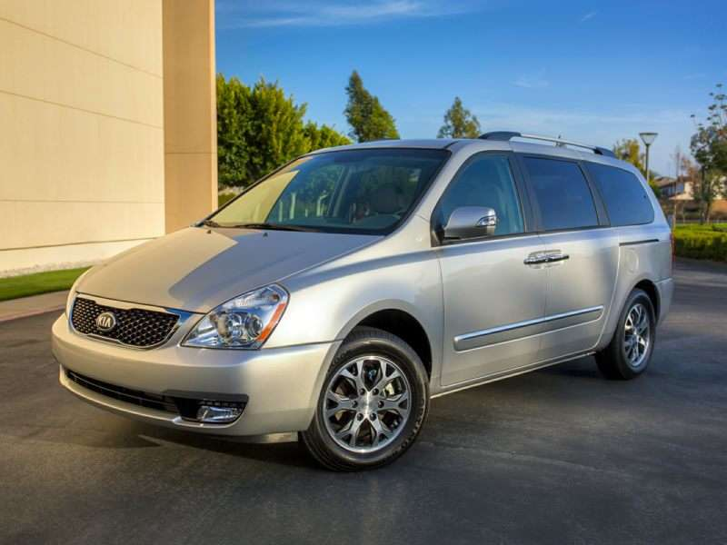 2014 Kia Sedona Joins 5-Star Safety Club