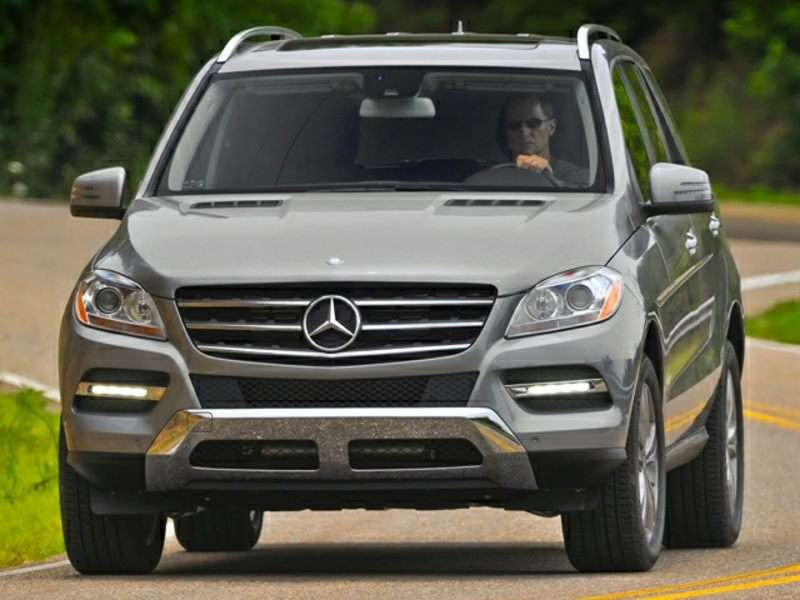 2014 Mercedes-Benz M-Class Joins Top Safety Pick+ Roster
