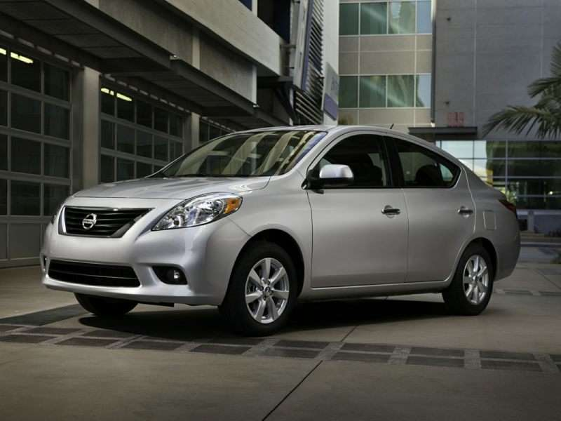 2014 Nissan Versa Sedan Holds the Line on Pricing