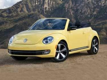 2014 Volkswagen Beetle 2.5L (A6) Convertible