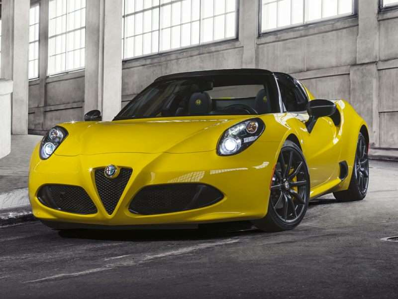 Research the 2015 Alfa Romeo 4C Spider