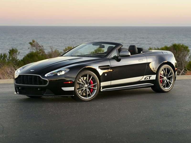 Research the 2015 Aston Martin Vantage GT