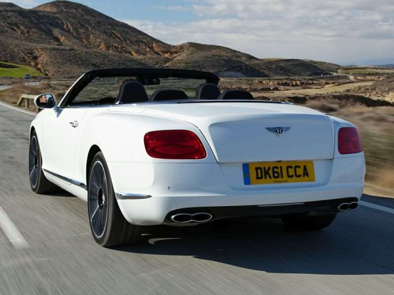 2016 Bentley Continental GTC Speed - rear