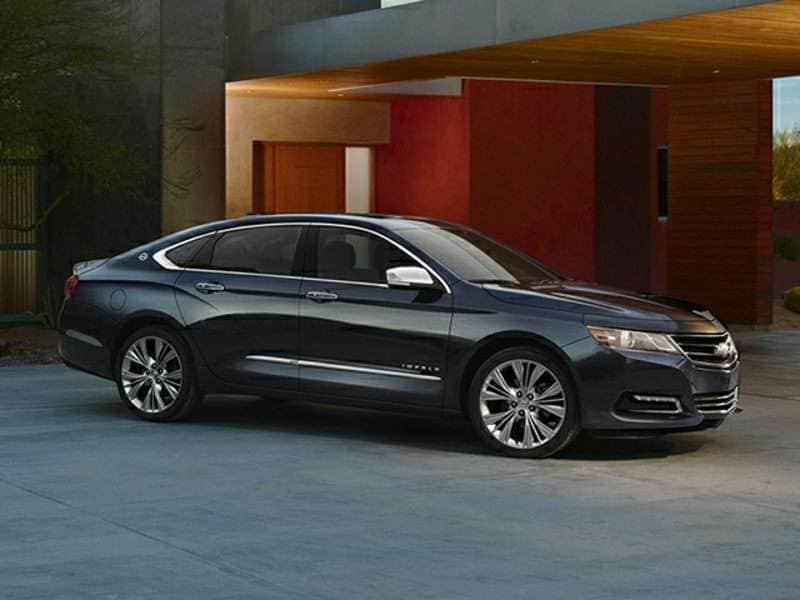 2015 Chevrolet Impala Shows off Bi-Fuel Powertrain
