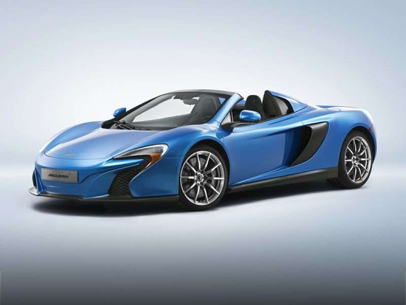 Research the 2015 McLaren 650S