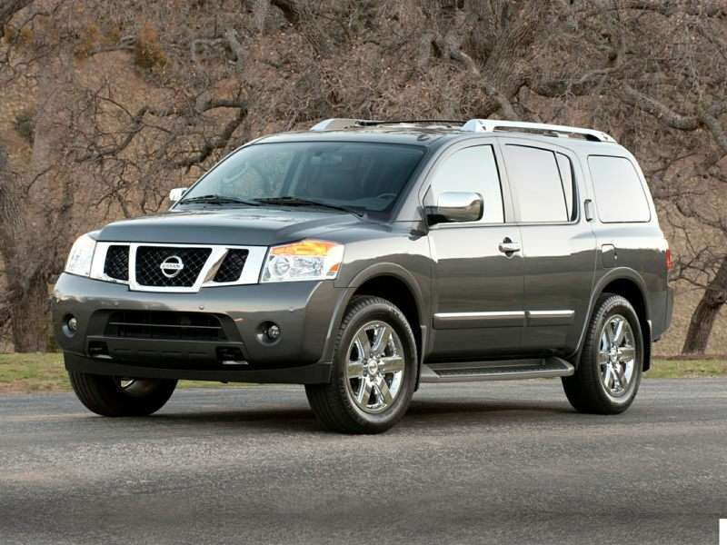 Research the 2015 Nissan Armada