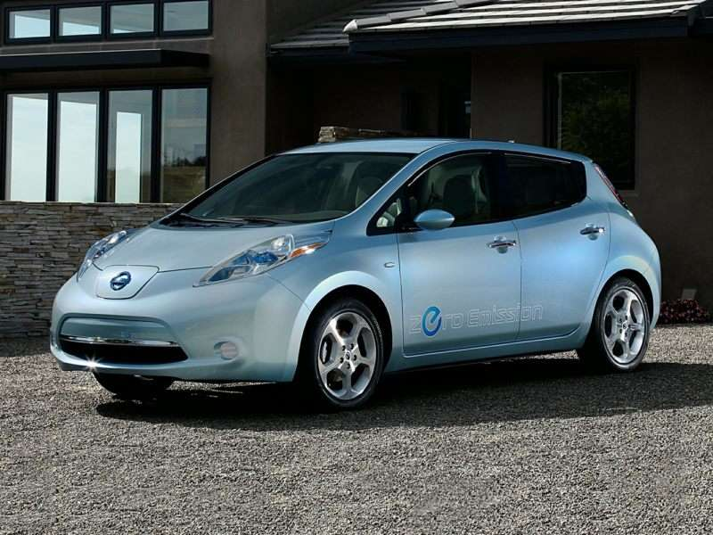 Research the 2015 Nissan LEAF