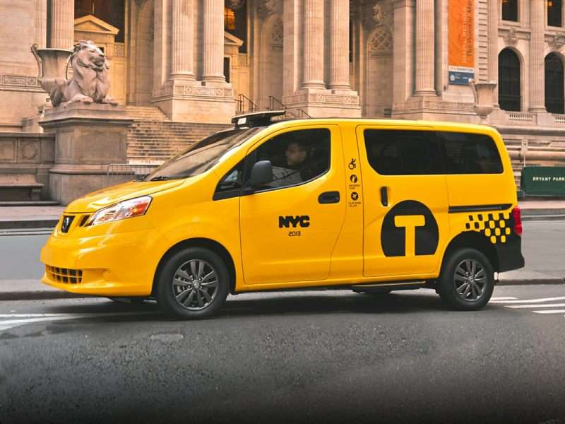 Research the 2015 Nissan NV200 Taxi