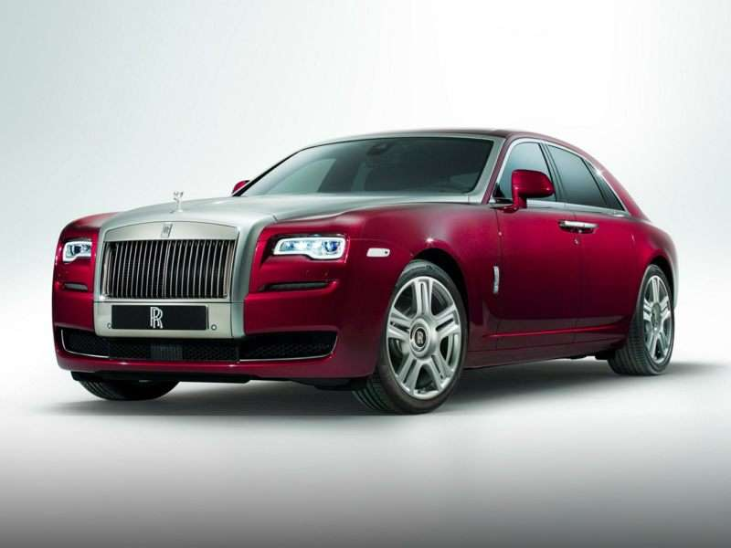Research the 2015 Rolls-Royce Ghost